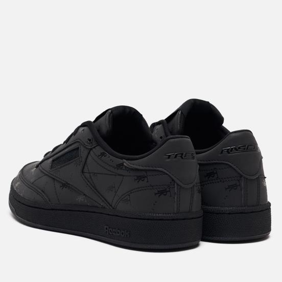 Кроссовки Reebok x Tres Rasche Club C 85 Black/Black/Black
