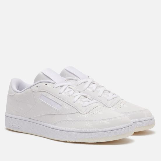 Кроссовки Reebok x Tres Rasche Club C 85 White/White/White