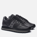 Кроссовки Saucony Jazz Original Leather Black фото- 1