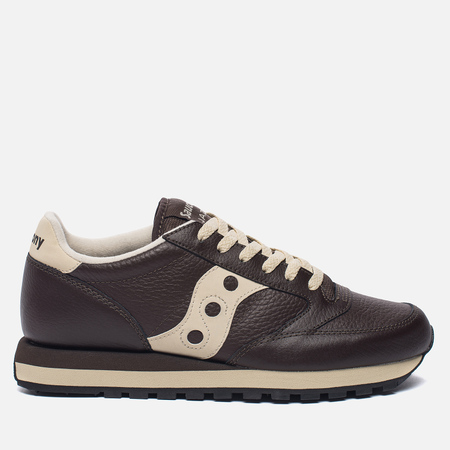Кроссовки Saucony Jazz Original Leather Brown