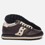 Кроссовки Saucony Jazz Original Leather Brown фото- 2