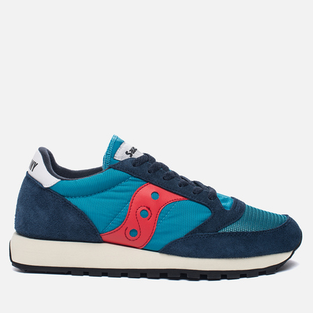 Кроссовки Saucony Jazz Original Vintage Navy/Red