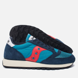 Кроссовки Saucony Jazz Original Vintage Navy/Red фото- 2