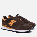 Кроссовки Saucony Shadow Original Brown/Orange фото- 1