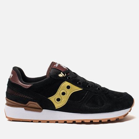 Кроссовки Saucony Shadow Original Suede Ranger Black/Gold