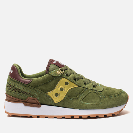 Кроссовки Saucony Shadow Original Suede Ranger Green/Gold