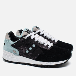 Кроссовки Saucony x The Quiet Life Shadow 5000 Quiet Shadow Black/Tiffany Blue