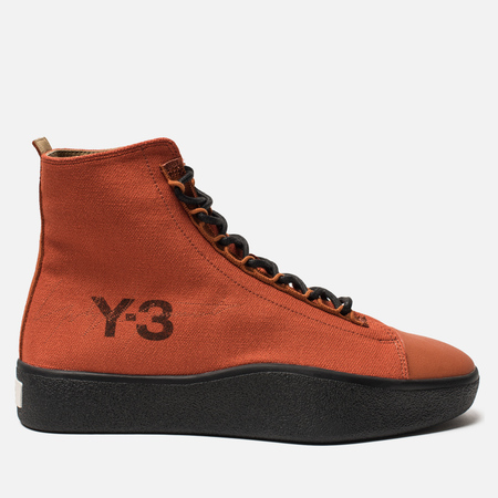 Кроссовки Y-3 Bashyo II Fox Red/Fox Red/Black