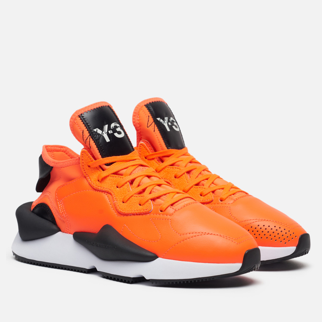 Кроссовки Y-3 Kaiwa Solar Orange/Black/White