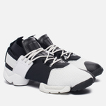 Кроссовки Y-3 Kydo Crystal White/Core Black/Crystal White фото- 1