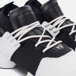 Кроссовки Y-3 Kydo Crystal White/Core Black/Crystal White фото- 5
