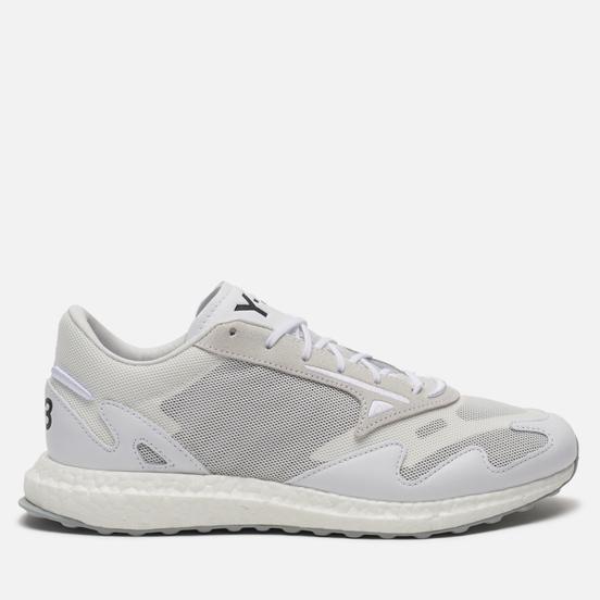 Мужские кроссовки Y-3 Rhisu Run White/Black/White
