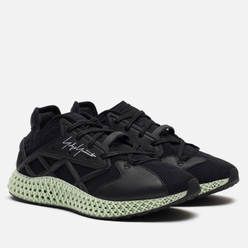 Кроссовки Y-3 Runner 4D Black/Black/White