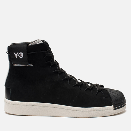 Кроссовки Y-3 Super High Black/White/Core White