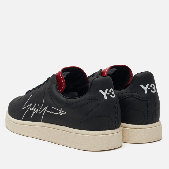 Кроссовки Y-3 Yohji Court Black/Red/Cloud White