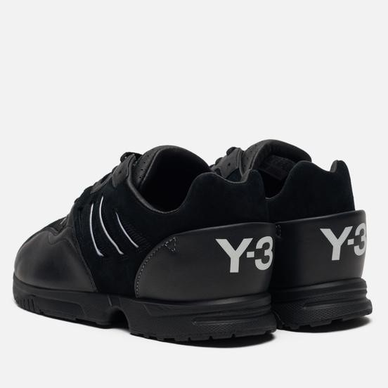 Кроссовки Y-3 ZX Run Black/Black/White