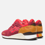 Женские кроссовки ASICS Gel-Lyte III Autumn Brights Pack Burgundy/Fiery Red фото- 2