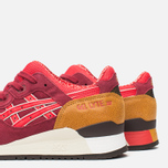 Женские кроссовки ASICS Gel-Lyte III Autumn Brights Pack Burgundy/Fiery Red фото- 5