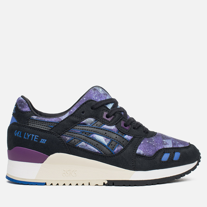Женские кроссовки ASICS Gel-Lyte III Galaxy Pack Monaco Blue/Black