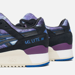 ASICS Gel-Lyte III Galaxy Pack Women's Sneakers Monaco Blue/Black photo- 5