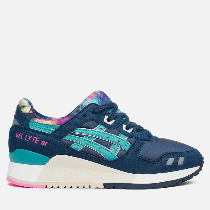 Женские кроссовки ASICS Gel-Lyte III Galaxy Pack Navy/Latigo Bay