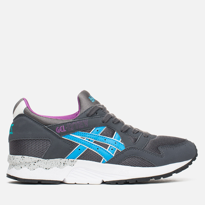 Женские кроссовки ASICS Gel-Lyte V Oddity Pack Dark Grey/Hyacinth Violet