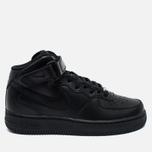 Женские кроссовки Nike Air Force 1 Mid 07 Black фото- 0