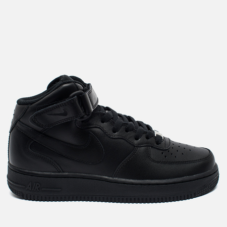 Nike Air Force 1 Mid 07 Women's Sneakers Black