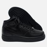 Женские кроссовки Nike Air Force 1 Mid 07 Black фото- 2