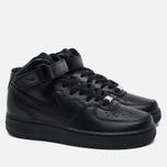 Женские кроссовки Nike Air Force 1 Mid 07 Black фото- 1