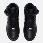 Женские кроссовки Nike Air Force 1 Mid 07 Black фото- 4