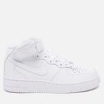 Женские кроссовки Nike Air Force 1 Mid 07 White фото- 0
