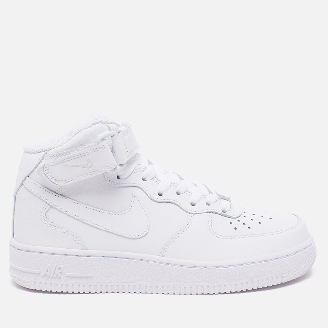 Женские кроссовки Nike Air Force 1 Mid 07 White