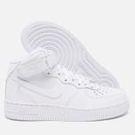 Женские кроссовки Nike Air Force 1 Mid 07 White фото- 2