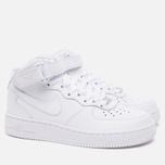 Женские кроссовки Nike Air Force 1 Mid 07 White фото- 1