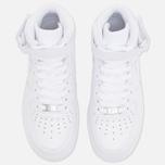 Женские кроссовки Nike Air Force 1 Mid 07 White фото- 4
