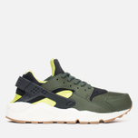 Женские кроссовки Nike Air Huarache Run Carbon Green/Black фото- 0
