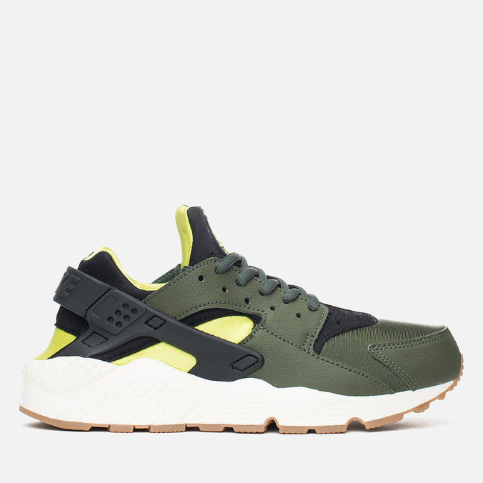 Женские кроссовки Nike Air Huarache Run Carbon Green/Black