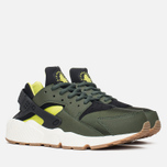 Женские кроссовки Nike Air Huarache Run Carbon Green/Black фото- 1