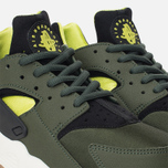 Женские кроссовки Nike Air Huarache Run Carbon Green/Black фото- 5