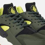 Женские кроссовки Nike Air Huarache Run Carbon Green/Black фото- 5