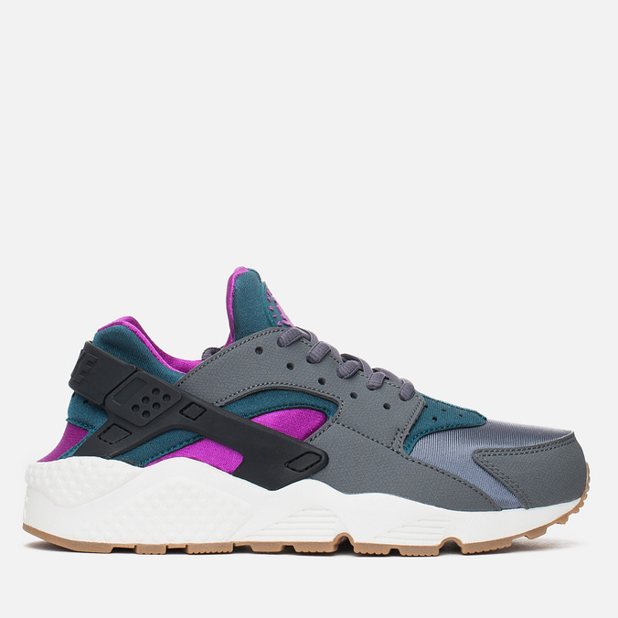 Женские кроссовки Nike Air Huarache Run Dark Grey/Teal
