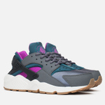 Женские кроссовки Nike Air Huarache Run Dark Grey/Teal фото- 1