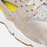 Женские кроссовки Nike Air Huarache Run Premium Metallic Silver/Green/Sunset Glow фото- 7