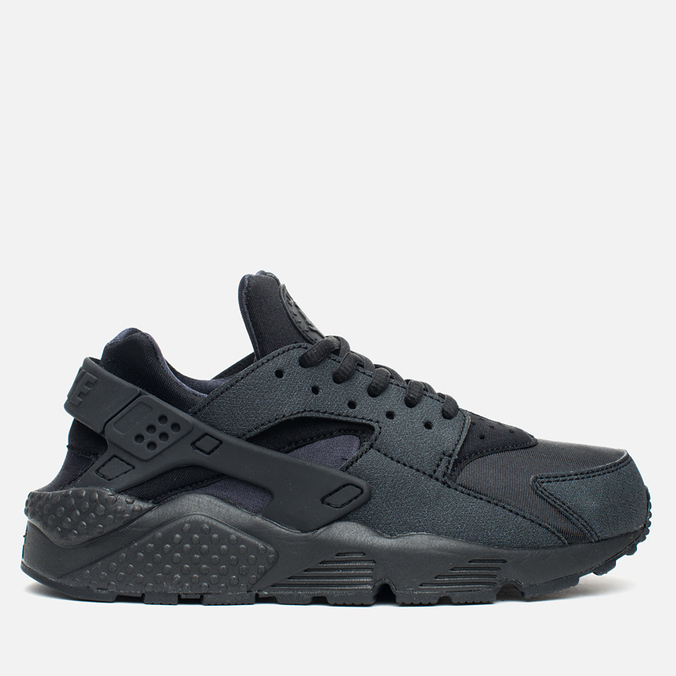 Женские кроссовки Nike Air Huarache Run Triple Black