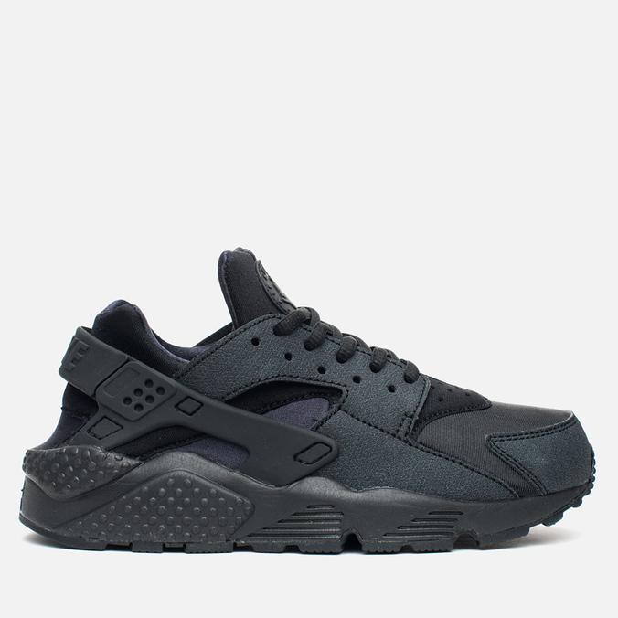 Nike Air Huarache Run Women's Sneakers Triple Black