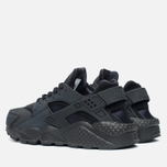 Женские кроссовки Nike Air Huarache Run Triple Black фото- 2