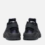 Nike Air Huarache Run Women's Sneakers Triple Black photo- 3