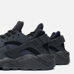 Женские кроссовки Nike Air Huarache Run Triple Black фото- 5