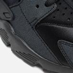 Nike Air Huarache Run Women's Sneakers Triple Black photo- 7